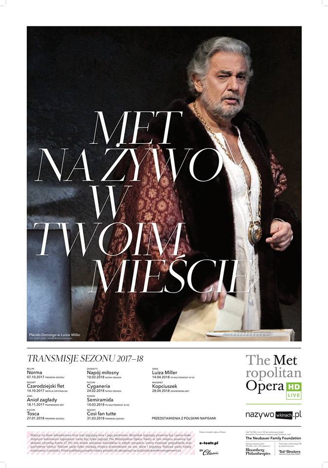 "THE MET: Live in HD ""CYGANERIA"""